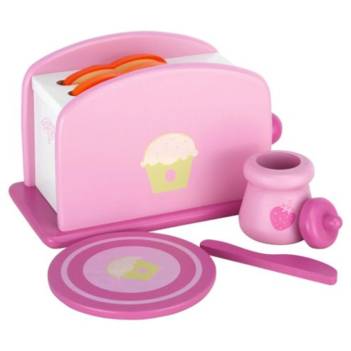 Carousel Cupcake Wooden Breakfast Set
