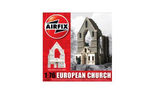 European Church Ruin (A75006) 1:76