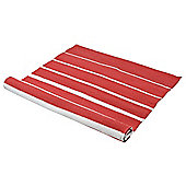 Eightmood Degrade Red Plain Rug - 70 cm x 200 cm (2 ft 4 in x 6 ft 7 in)