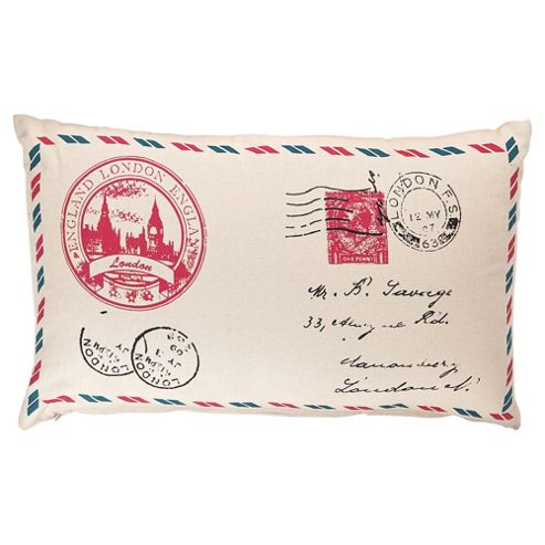 Best Of British Stamp Cushion