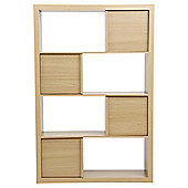 Tribeca Shelving Unit, Oak