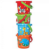 Gowi Toys 558-06 Wild Animal Bucket (Designs Vary)