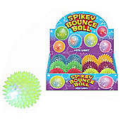 Spikey Bounce Ball With Light