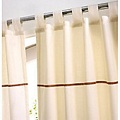 Izziwotnot Cream Gift Tab Top Curtains