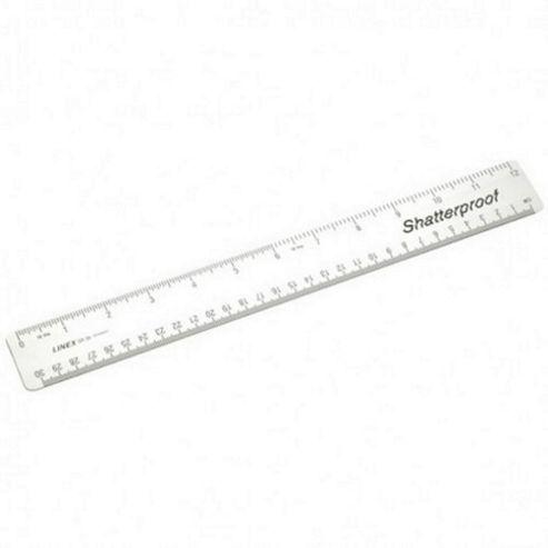 Linex School Shatterproof Rule -30cm