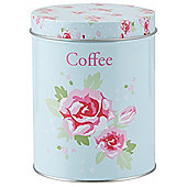 Tesco English Rose Coffee Canister