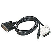 Cables to Go 1 m M1 to DVI-D with USB Cable