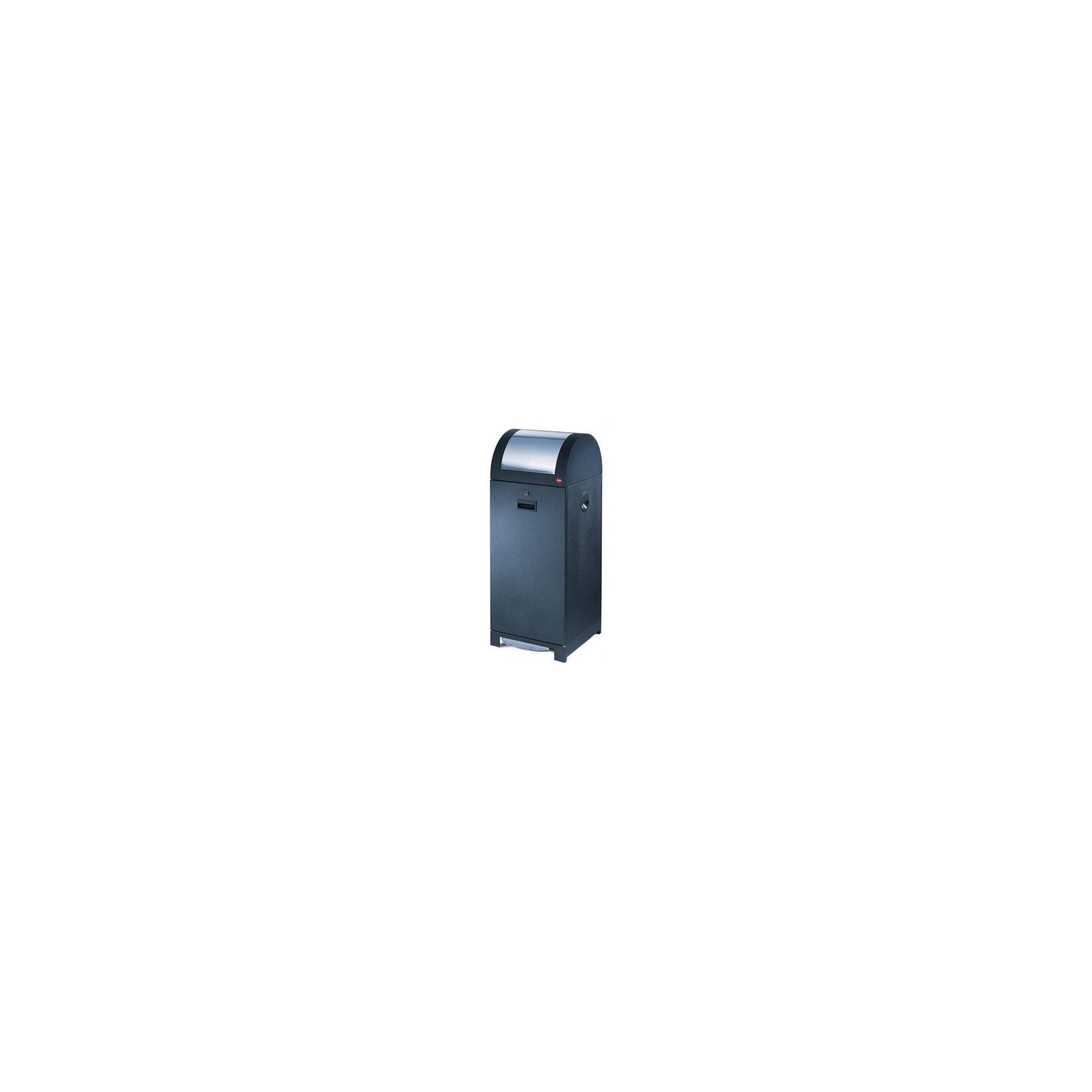 Hailo ProfiLine WSB Design 70 Recycling and Waste Bin in Black with Bin Liner Holder at Tesco Direct