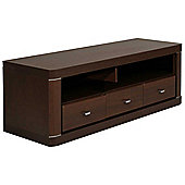 Ultimum Camden Wide 3 Drawer Dark Wenge TV Stand