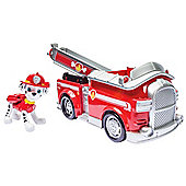 Paw Patrol Fire Fightin Truck with Marshall