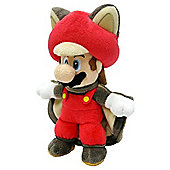 "Official Nintendo Super Mario Plush Series Stuffed Toy - 9"" Mario Flying Squirrel"