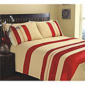 KLiving Double Bed Seattle Gold Duvet Cover Set