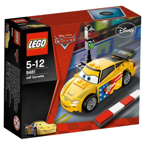 LEGO Disney Cars Jeff Gorvette 9481