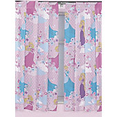 Disney Princess Curtains 72s - Dreams - Pink