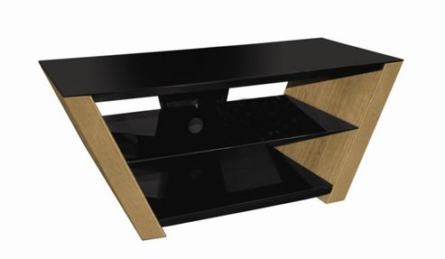 Peerless New Orleans TV Stand - Oak