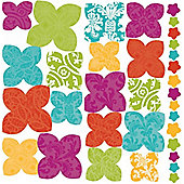 3D Flower Decals