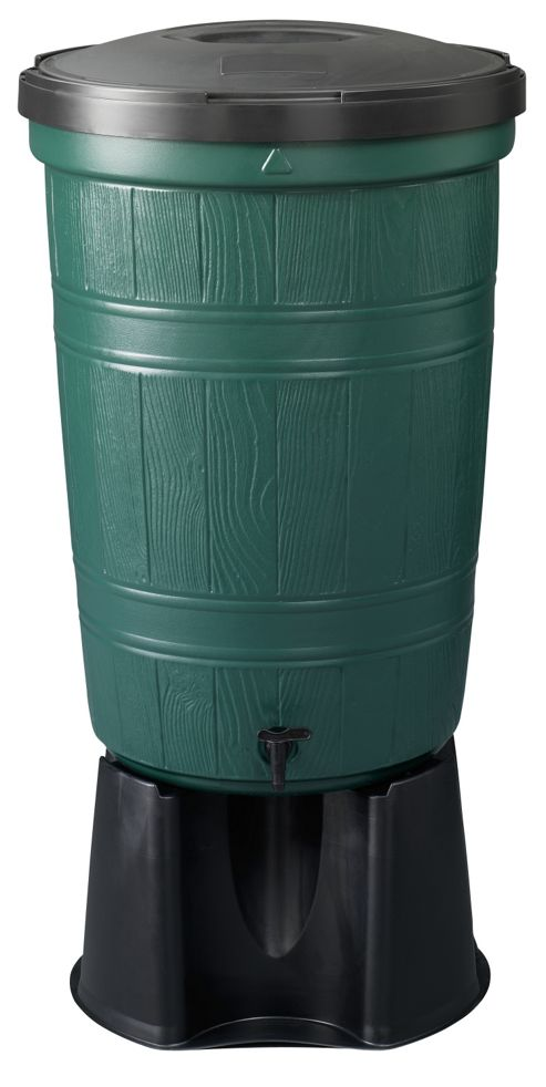 Large garden lake 200 litre water butt kit
