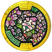 Yo-kai Watch Series 2 Medal - Heartful - Elder Bloom (Hanasakajii) [217] (Rare Gold)
