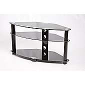 Iconic Corner TV Stand - Black - 80cm