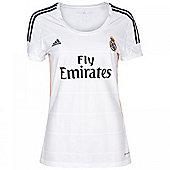 2013-14 Real Madrid Adidas Home Ladies Shirt - White