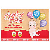 Tesco Cheeky Bots, Maxi Size 4, 164 Nappies