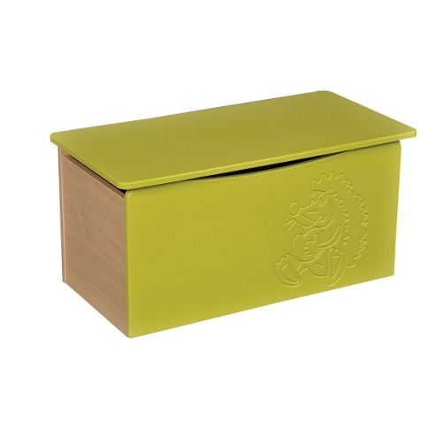 Liberty House Toys Hedgehog Toy Box - Green
