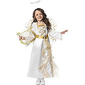Child Angel Princess Costume Medium