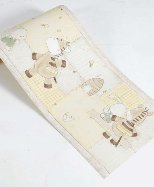 Mamas & Papas - Zeddy & Parsnip - Wallpaper Border
