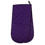Now Designs Colour Centre Double Oven Glove, Prince Purple