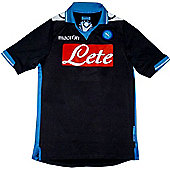 2011-12 Napoli Away Macron Football Shirt - Navy