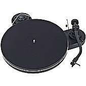 PROJECT RPM 1.3 GENIE TURNTABLE WITH 2M RED CARTRIDGE (BLACK MATT)