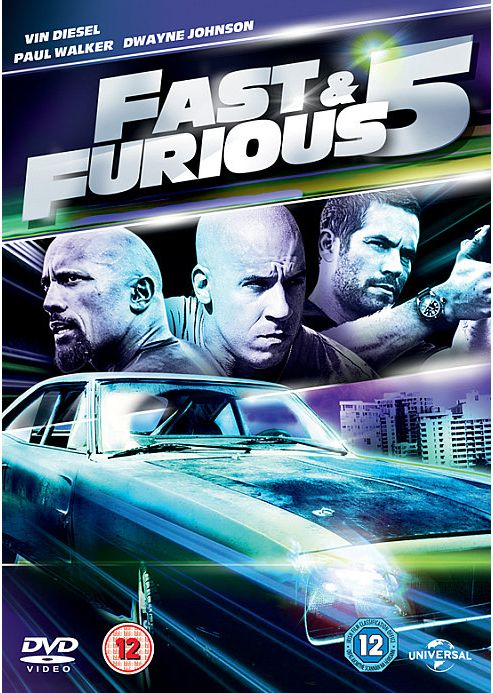Fast And Furious Five - Rio Heist DVD
