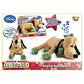 Mickey Mouse Clubhouse Pluto Sleeper Soft Toy