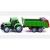 Deutz Tractor With Manure Spreader