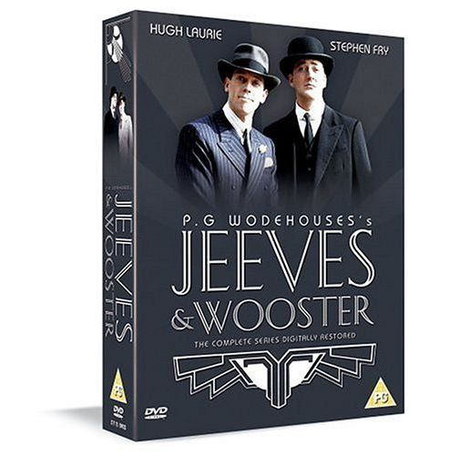 Jeeves & Wooster - The Complete Series (DVD Boxset)