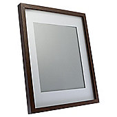 "Tesco Photo Frame Walnut Effect 11""X14""/8""X10""with Mount"