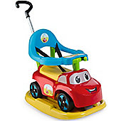 Smoby Auto Bascule 4 in1 ride on car, Red