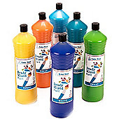 Ready Mixed Paint 600ml - Pack B (Pack of 6)