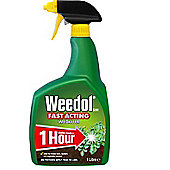 Weedol Fast Acting Strong Weedkiller - Ready use Spray - 1L