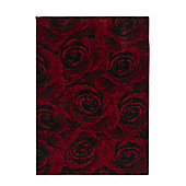 Oriental Carpets & Rugs Art Twist Rose Carved Rug - 220cm L x 160cm W