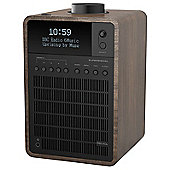 Revo SuperSignal DAB/DAB+/FM Radio with Bluetooth (Walnut/Black)