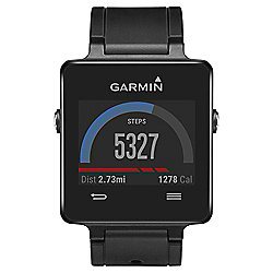 Garmin Vivoactive Activity Tracking GPS Smartwatch w/ HRM, Black