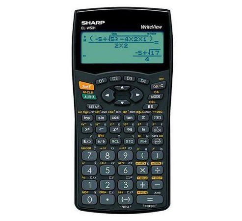 Sharp WriteView ELW531B Scientific Calculator