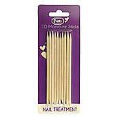 Pretty Nail Treatment 10 Manicure Sticks