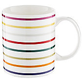 Tesco Winter Stripe Mug, Single