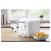 Tesco 2.5L Fryer - White