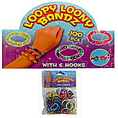 Loopy Loony Bandz Bracelet Maker 100 Pieces
