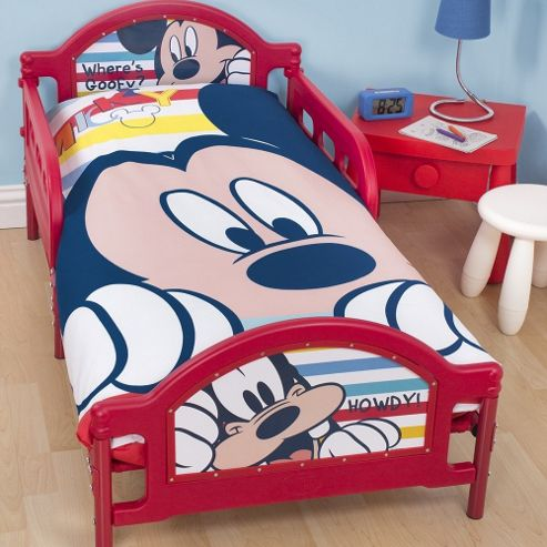 mickey mouse toddler bed junior