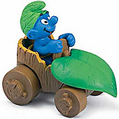 Schleich Super Smurfs Smurf in Car