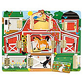 Melissa & Doug HideSeek Board Magnetic Farm
